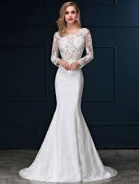 robe de mariã e manche longue dentelle robe de mariée pas cher robe de mariage veaul