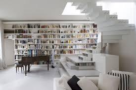 librerie muro soggiorno ad angolo