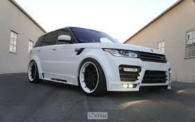 white wrapped range rover ltmw mansory range rover sport 1 of 1 in the united states