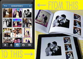 wedding albums printing create a wedding album from and instagram photos
