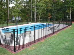 aluminum fences this ornamental aluminum fence encl