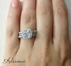 wedding ring with two bands how do like to wear wedding bands adiamor