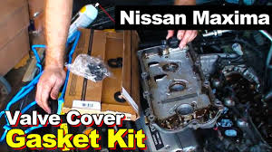 1995 1999 nissan maxima 3 0l v6 rear valve cover gasket youtube