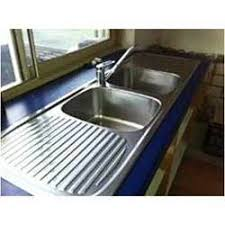 Double Bowl Sink Manufacturers Suppliers  Dealers In Chennai - Kitchen sink double bowl double drainer