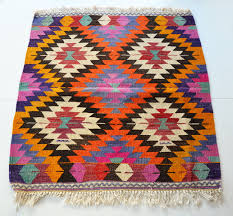 Outdoor Kilim Rug by Sukan Vintage Turkish Kilim Rug Carpet Handwoven Kilim Rug