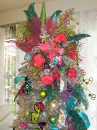 decorations tree topper toppers for with ribbon ideas