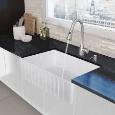 vigo vg15458 all in one 33 in matte stone farmhouse kitchen sink