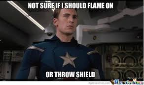 Captain America Meme - human torch or captain america by letholdusofblackrain meme center