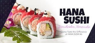 hana japanese cuisine hana sushi 6 winchester temecula