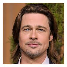 mens hair cuts for wide face mens hairstyles for wide faces and brad pitts famous long hair