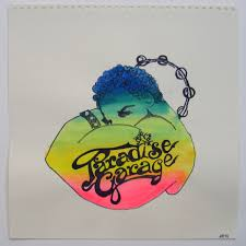 limited edition logo art paradise garage pinterest larry