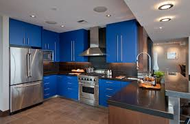 blue kitchen contemporary blue kitchen cabinets awesome house ideas for