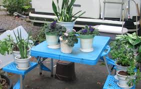 our portable rv herb garden older than dirt and surviving