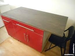 meuble plan travail cuisine luxe meuble bas de cuisine avec plan travail pour idees deco inside