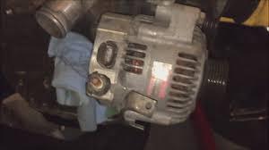 lexus sc300 alternator 2jzge vvti vol1 part5 alternator removal youtube