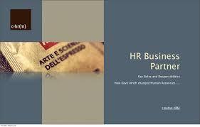 Hr Help Desk Job Description Hr Business Partner Roles And Responsibilities