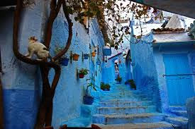 Morocco Blue City by Blue City Wephilistines
