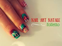 nail art tutorial natale facile 4 easy christmas nail art