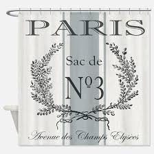Vintage Shower Curtain Paris Vintage Shower Curtains Paris Vintage Fabric Shower
