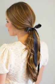 ribbon ponytail 6 ways to wear a ribbon in your hair gmg now
