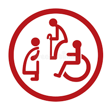 Disability Grants For Bathrooms Bathroom For Persons With Disabilities Disabled Toilet Sign Stock