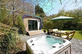 luxury glamping pod devon with tub camping pod devon devon