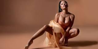 taraji p henson sexy pictures nicki minaj gets nude with mac cosmetics emcee