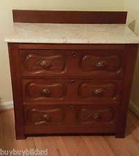 Bench Made From Old Dresser Antique Dressers U0026 Vanities 1800 1899 Ebay