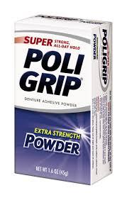 super poligrip original formula zinc free denture adhesive cream