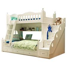 Aliexpresscom  Buy Double Solid Wood Bunk Bed For Children From - Solid wood bunk bed