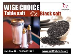 what s the difference between table salt and sea salt black salt table salt just for hearts