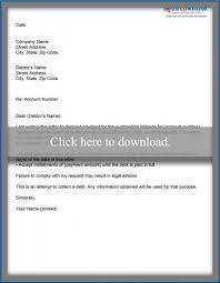 sample letter for credit card debt settlement lovetoknow
