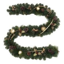 does home depot have their black friday deals on wreaths swags 9 ft greenland artificial garland with 50 clear lights