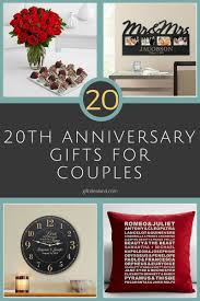 anniversary gifts for 31 20th wedding anniversary gift ideas for him