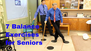 7 balance exercises for seniors fall prevention by physical