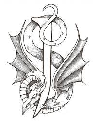 dragon letter j by tamara newman artwanted com