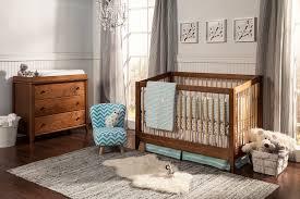 Wood Convertible Cribs Astonishing Brown Oak Wood Convertible Crib White Wall Paint Color