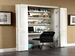 Closet Desk Ideas Espresso All In One Loft Bed Discovery - Closet home office design ideas