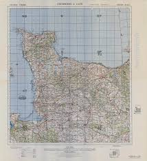 Rennes France Map by 83rd Infantry Division Documents Maps
