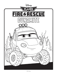 the arts shelf u2013 planes fire and rescue colouring pages dynamite