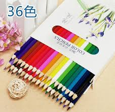 aliexpress com buy 36 colored drawing pencils artist sketch