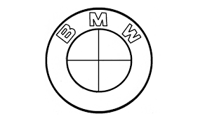 bmw logo como desenhar o símbolo da bmw logo emblema escudo how to