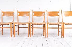 Scandanavian Chair Scandinavian Oak U0026 Straw Chairs 1950s Set Of 6 For Sale At Pamono