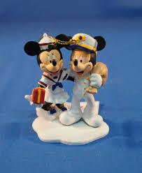 disney cruise line captain mickey sailor minnie mouse resin