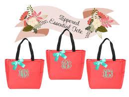 bridesmaid bag 2 personalized bridesmaid gift tote bags wedding bridesmaids gift