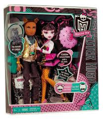 Monster High Halloween Wolf Doll by Amazon Com Monster High Draculaura And Clawd Wolf Doll Giftset