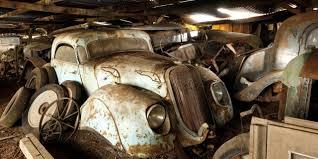 bbc autos in france the u0027barn find of the century u0027