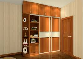 Bedroom Furniture Wall Cabinet Wardrobe Designs Photos Ample Storage Grain Wooden Laminated Black