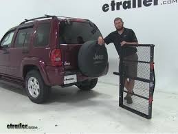2011 jeep liberty hitch pro series hitch cargo carrier review 2002 jeep liberty