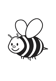 Small Bees The Fat Coloring Pages For Kids Jc Printable Bees Small Coloring Pages